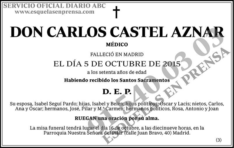 Carlos Castel Aznar